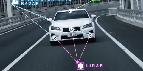 Toyota previews Highway Teammate driverless technology - video