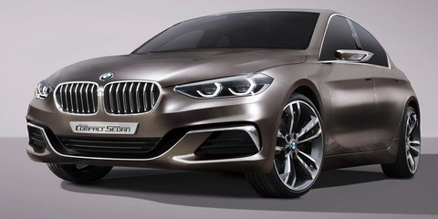 BMW 1 Series sedan previewed with new compact concept