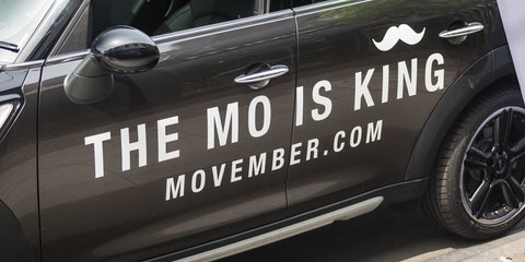 CarAdvice joins Movember and Mini to take mownership of men's health