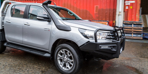 2016 Toyota Hilux SR 4x4 Cab Chassis Review