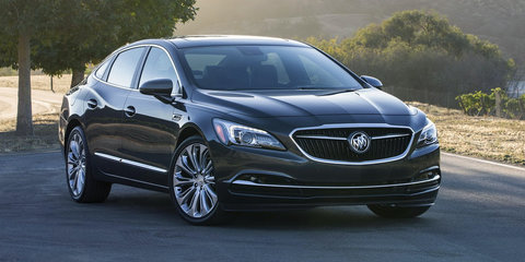 New Buick LaCrosse debuts in Los Angeles