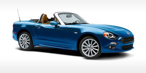 Fiat 124 Spider revealed ahead of Australian launch