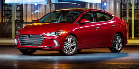 2016 Hyundai Elantra makes LA debut: Australian launch set for early next year