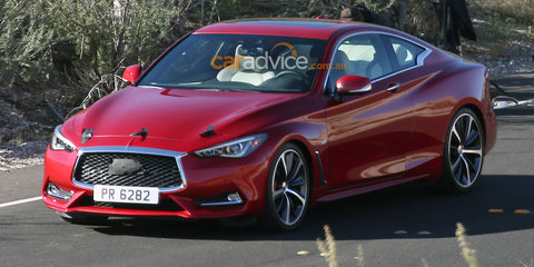 2017 Infiniti Q60 coupe spied without disguise