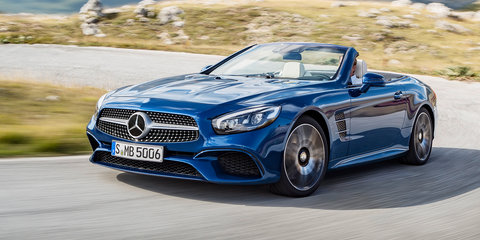 2016 Mercedes-Benz SL revealed