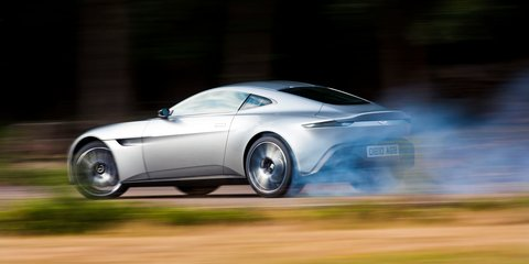 Aston Martin DB10 - James Bond Spectre - walk around and chat