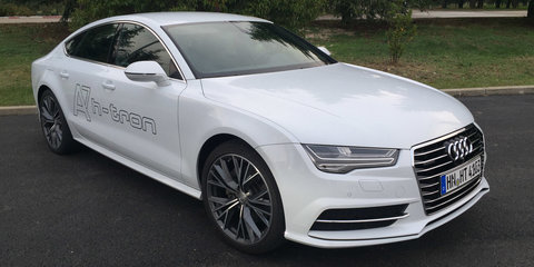 Audi readying fifth-generation hydrogen car: Audi A7 h-tron detailed
