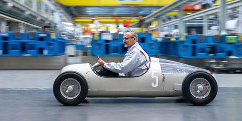 Audi 3D prints scale model of Auto Union Typ 3C race car