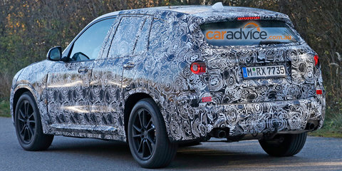 2017 BMW X3 spy photos - UPDATE