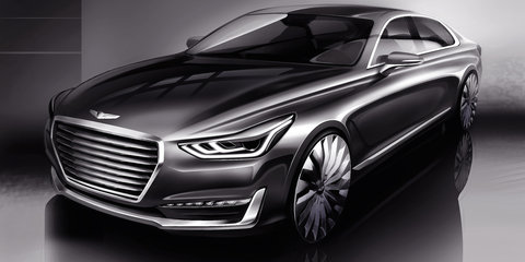 Genesis G90: Hyundai teases new S-Class rival