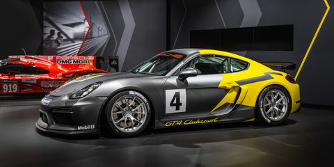 Porsche Cayman GT4 Clubsport unveiled in LA - UPDATE