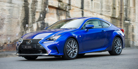 2016 Lexus RC Coupe pricing and specifications:: Entry-level turbo model added, prices adjusted