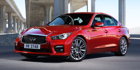 2016 Infiniti Q50 to get all-new twin-turbo V6 and dynamic overhaul
