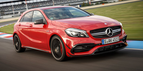 2016 Mercedes-Benz A-Class, AMG A45 pricing and specifications: Styling boost, upgraded features, new pricing