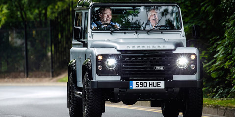 Land Rover Defender 2,000,000 sells for $830,000