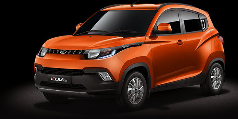 Mahindra KUV100 crossover derivative, codenamed S105, could come to Australia