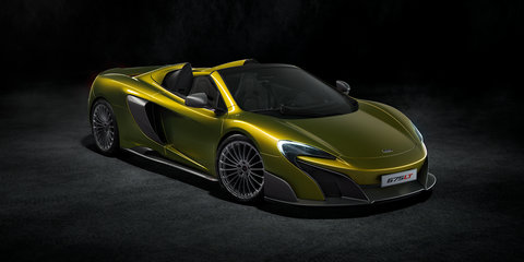 McLaren 675LT Spider revealed
