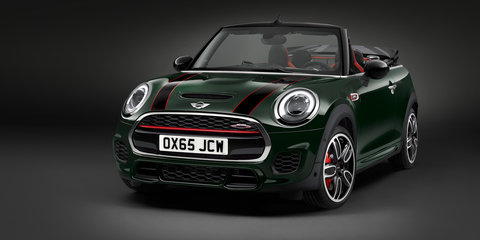 Mini JCW Convertible confirmed for Australia