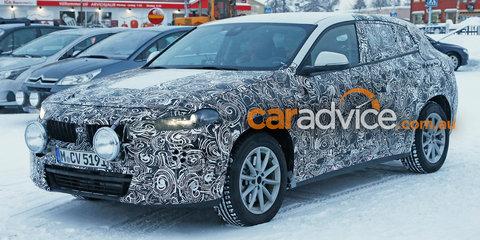 2017 BMW X2 spied testing
