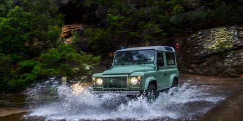 Land Rover Defender production ends Friday