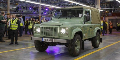 Land Rover Defender production ends ahead of new-generation model launch