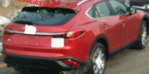 Mazda CX-6/CX-4 crossover spotted again