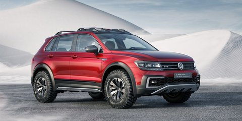 Volkswagen Tiguan GTE Active Concept: Detroit show debut for plug-in AWD concept