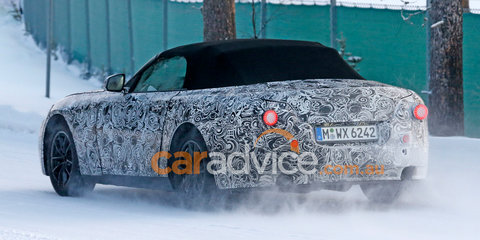 BMW 'Z5' spy photos:: Toyota co-developed Z4 replacement spotted for the first time