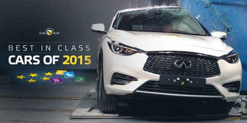 Crash safety stars: Euro NCAP names 2015 Best in Class