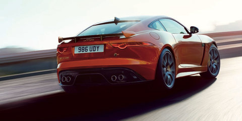 Jaguar F-Type SVR pictures and details leaked online - UPDATED