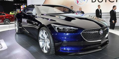 Buick Avista concept : Detroit Auto Show 2016