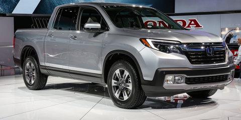 Honda Ridgeline : Detroit Auto Show 2016