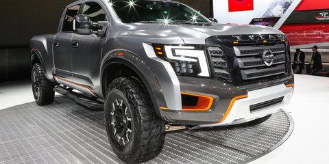 Nissan Titan Warrior concept : Detroit Auto Show 2016