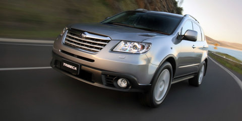 Subaru Tribeca recalled in Australia for bonnet latch fix