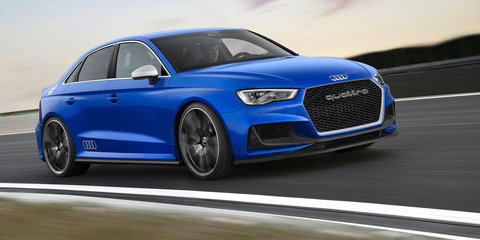 2017 Audi RS3 sedan closing in on showroom debut - report