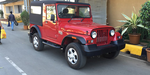 Mahindra Thar Quick Drive Review