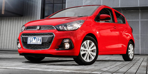 2016 Holden Spark detailed ahead of April launch: Local tuning, advanced tech on board