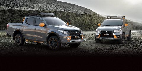 2016 Mitsubishi Triton Geoseek, ASX Geoseek concepts revealed