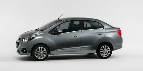 Chevrolet reveals Essentia sedan, Spark Activ crossover concept:: Unlikely for Australia