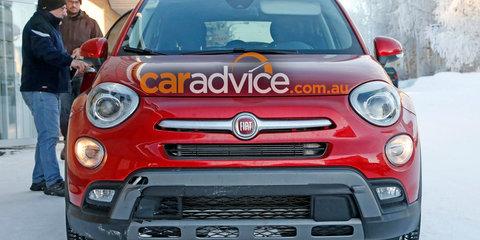 2017 Fiat 500X Abarth spied testing