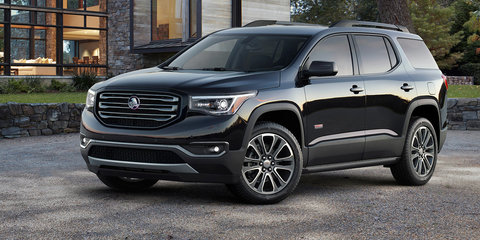 Holden looking to GMC Acadia to fill large SUV gap