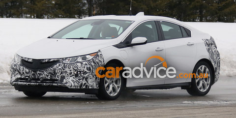 2017 Opel Ampera spied in Europe: Holden Ampera to follow in Australia?