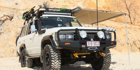 1989 Toyota Landcruiser Sahara (4x4) Review
