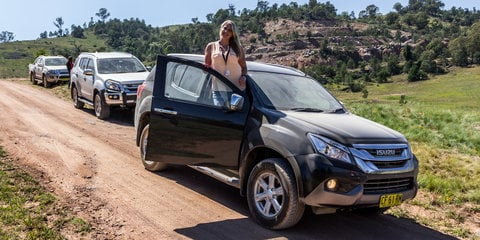 Isuzu I-Venture Club: River Island Adventure in the Isuzu MU-X LS-T