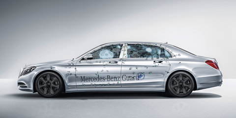 Mercedes-Maybach S600 Guard: Benz lobs bomb-proof limo