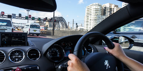 Destination Drive : Bridges of Sydney in a Peugeot RCZ