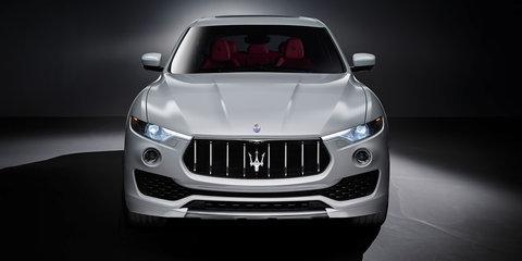 2017 Maserati Levante exterior revealed - UPDATED