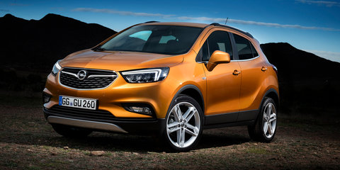 Opel Mokka X facelift unveiled