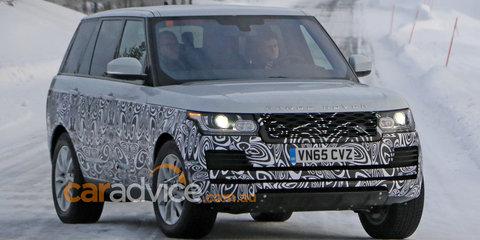 2016 Range Rover facelift spy photos