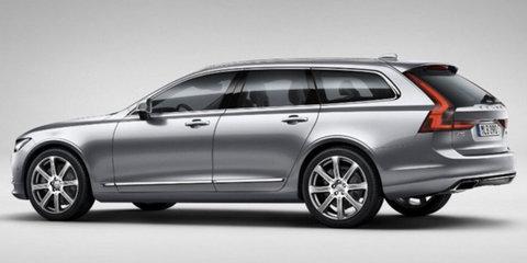 Volvo V90 wagon leaked ahead of debut next week